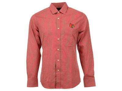 Louisville Cardinals NCAA Men's Associate Woven Button Up Shirt