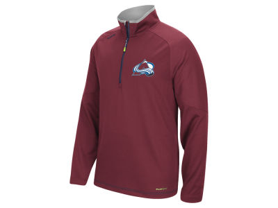 Colorado Avalanche Reebok NHL Men's Center Ice 1/4 Zip Pullover