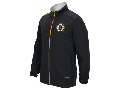 Boston Bruins Reebok NHL Men's Center Ice Warm Up Jacket