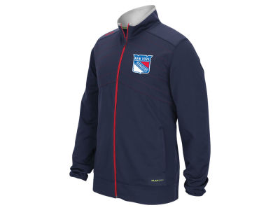 New York Rangers Reebok NHL Men's Center Ice Warm Up Jacket