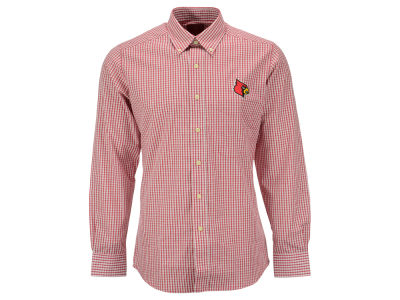 Louisville Cardinals NCAA Men's Graduate Button Up Shirt