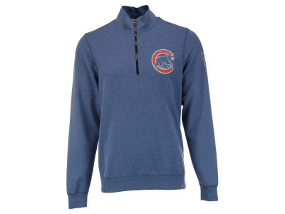 Chicago Cubs MLB Men's Forward Peak 1/4 Zip Pullover Shirt