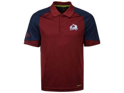 Colorado Avalanche Reebok NHL Men's Center Ice Polo Shirt