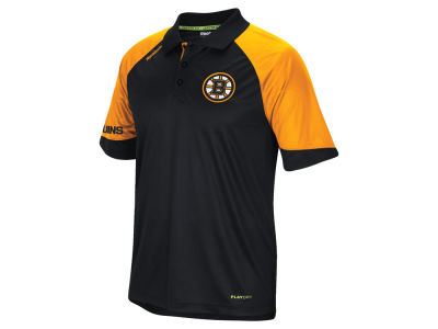 Boston Bruins Reebok NHL Men's Center Ice Polo Shirt