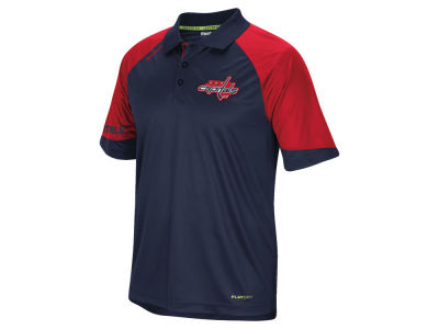 Washington Capitals Reebok NHL Men's Center Ice Polo Shirt