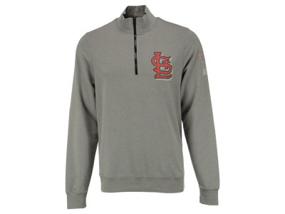 St. Louis Cardinals MLB Men's Forward Peak 1/4 Zip Pullover Shirt