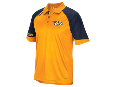 Nashville Predators Reebok NHL Men's Center Ice Polo Shirt