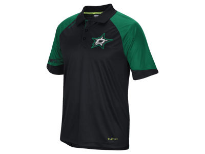 Dallas Stars Reebok NHL Men's Center Ice Polo Shirt