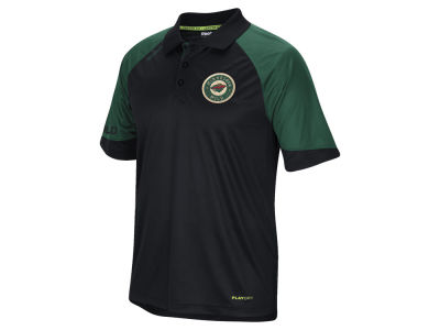 Minnesota Wild Reebok NHL Men's Center Ice Polo Shirt