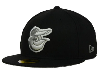 Baltimore Orioles New Era MLB Black Graphite 59FIFTY Cap