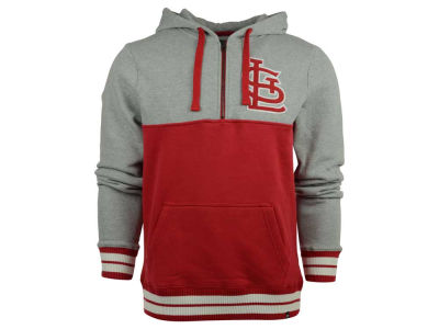St. Louis Cardinals MLB Men's Crossfire Half Zip Hoodie