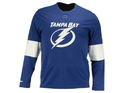 Tampa Bay Lightning Reebok NHL Men's Long Sleeve Jersey T-Shirt