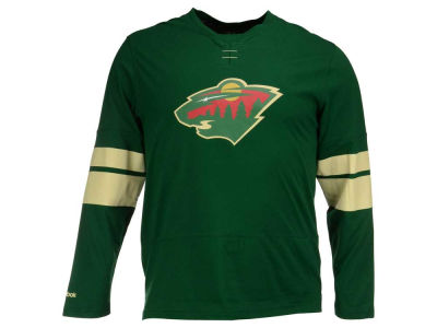 Minnesota Wild Reebok NHL Men's Long Sleeve Jersey T-Shirt