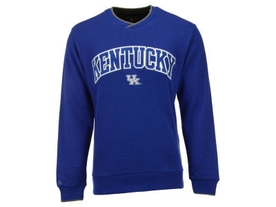 Kentucky Wildcats Antigua NCAA Men's Executive Full Front Applique Crew Sweatshirt