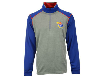 Kansas Jayhawks NCAA Men's Breakdown 1/4 Zip Pullover Shirt