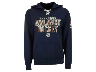 Colorado Avalanche Reebok NHL Men's Stitch Em Up Hoodie