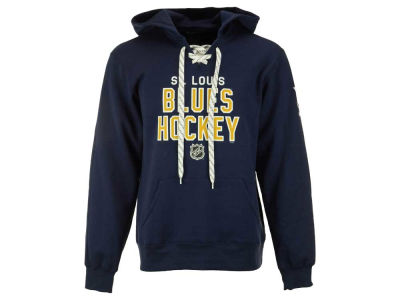 St. Louis Blues Reebok NHL Men's Stitch Em Up Hoodie