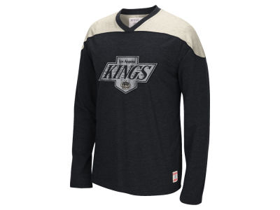 Los Angeles Kings Reebok NHL Men's Applique Long Sleeve T-Shirt