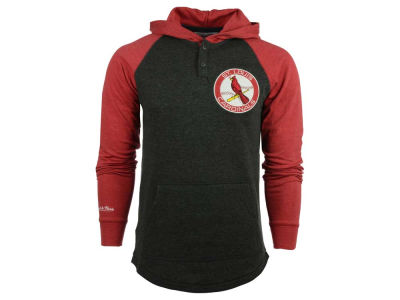 St. Louis Cardinals MLB Men's Home Stretch Hooded Long Sleeve T-Shirt