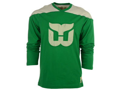 Hartford Whalers Reebok NHL Men's Applique Long Sleeve T-Shirt