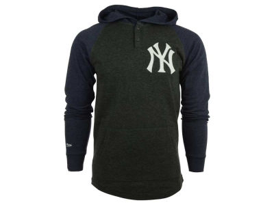 New York Yankees MLB Men's Home Stretch Hooded Long Sleeve T-Shirt