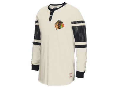 Chicago Blackhawks Reebok NHL Men's Henley Shirt