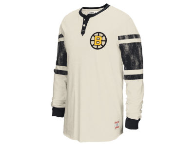 Boston Bruins Reebok NHL Men's Henley Shirt
