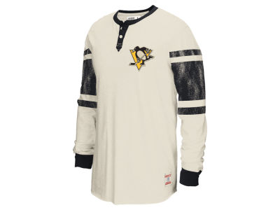 Pittsburgh Penguins Reebok NHL Men's Henley Shirt