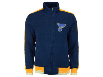 St. Louis Blues Reebok NHL Men's Track Jacket