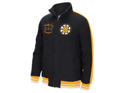 Boston Bruins Reebok NHL Men's Track Jacket