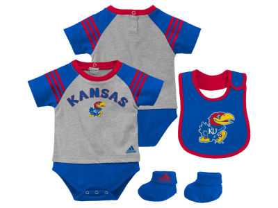 Kansas Jayhawks NCAA Infant Little Kicker Set