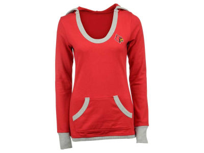 Louisville Cardinals NCAA Women's Vibe Pullover Hoodie