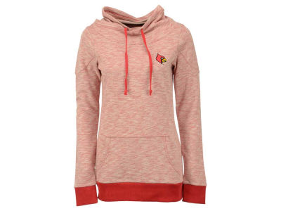Louisville Cardinals NCAA Women's Swift Cowl Neck Pullover Sweatshirt