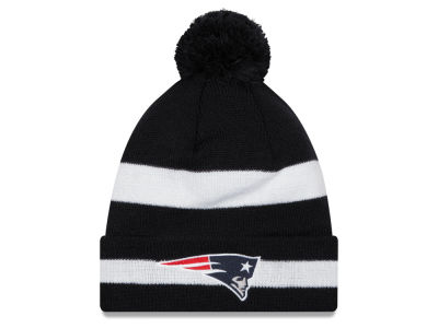 New England Patriots New Era NFL Chase Pom Knit