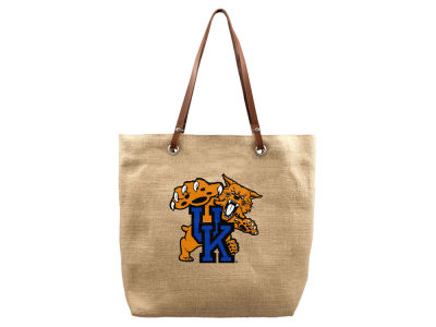 Kentucky Wildcats Burlap Tote