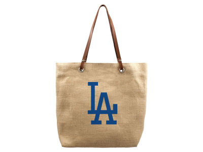 Los Angeles Dodgers Burlap Tote