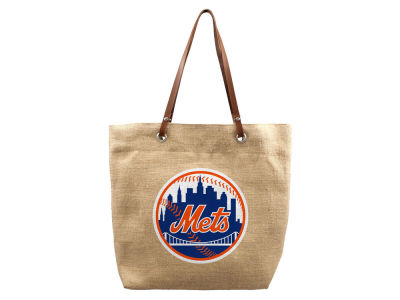 New York Mets Burlap Tote