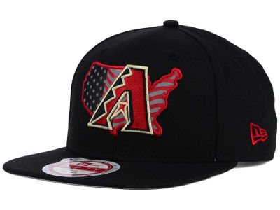Arizona Diamondbacks New Era MLB USA Reflective 9FIFTY Snapback Cap