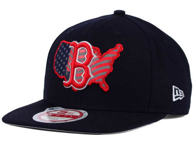 Boston Red Sox New Era MLB USA Reflective 9FIFTY Snapback Cap
