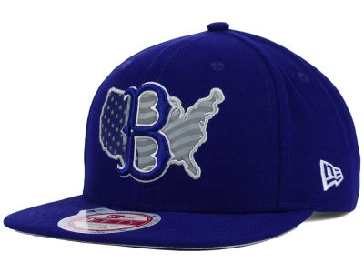 Brooklyn Dodgers New Era MLB USA Reflective 9FIFTY Snapback Cap