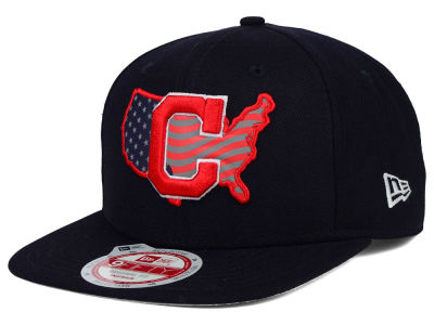 Cleveland Indians New Era MLB USA Reflective 9FIFTY Snapback Cap