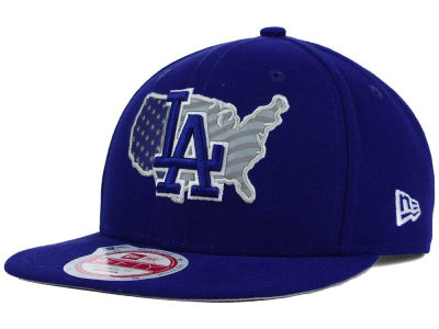Los Angeles Dodgers New Era MLB USA Reflective 9FIFTY Snapback Cap
