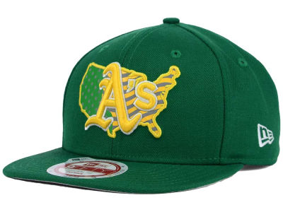 Oakland Athletics New Era MLB USA Reflective 9FIFTY Snapback Cap