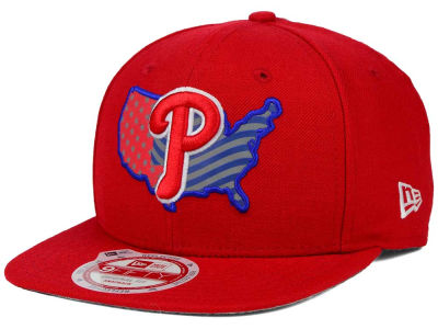 Philadelphia Phillies New Era MLB USA Reflective 9FIFTY Snapback Cap