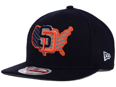 San Diego Padres New Era MLB USA Reflective 9FIFTY Snapback Cap