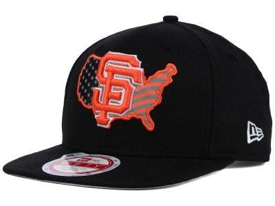 San Francisco Giants New Era MLB USA Reflective 9FIFTY Snapback Cap