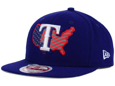 Texas Rangers New Era MLB USA Reflective 9FIFTY Snapback Cap