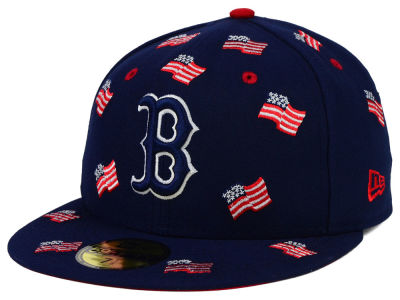 Boston Red Sox New Era MLB All Flags 59FIFTY Cap