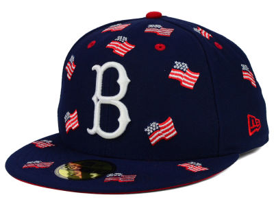 Brooklyn Dodgers New Era MLB All Flags 59FIFTY Cap