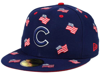 Chicago Cubs New Era MLB All Flags 59FIFTY Cap